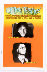 KISS Booklet - Peter Criss at Chiller Theater 2006