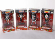 KISS Headliners Figures - Destroyer outfits, set of 4.