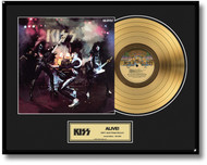 KISS Gold Record - Alive LP