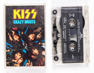 KISS Cassette Tape - Crazy Nights