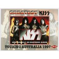 KISS Poster - Greatest KISS Australian CD ad '97