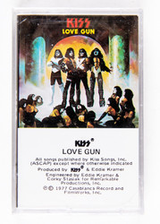 KISS Cassette Tape - Love Gun, (SEALED)