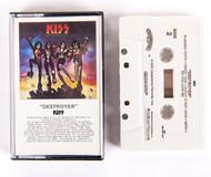 KISS Cassette Tape - Destroyer, (black spine)