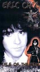 KISS VHS Tape - Eric Carr, Tale of the Fox