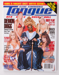 KISS Magazine - Gene Simmons Tongue Summer '03, Snoop