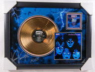 KISS Vinnie Vincent Autographed Creatures Gold Record, (10/50)