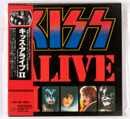 KISS Audio CD - Alive II, Cardboard Sleeve, Japan, 1998