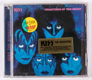 KISS Audio CD - Creatures of the Night, The REMASTERS, (sealed)
