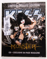 KISS CD - Monster Limited Deluxe Edition w/64 page magazine
