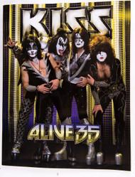 KISS Tourbook - Alive 35, GERMANY.