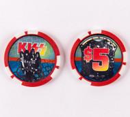 KISS Poker Chip - KISS Kruise IV