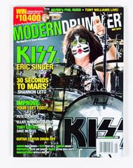 KISS Magazine - Modern Drummer 2010, Eric.