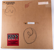 KISS Smashes Thrashes and Hits Poster Shipping Box w/poster