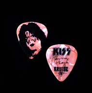 KISS Guitar Pick - KISS Kruise IV Rose Pearl, Tommy