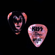 KISS Guitar Pick - KISS Kruise IV Rose Pearl, Gene