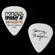 KISS Guitar Pick - Monster South America, Tommy