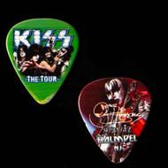 KISS Guitar Pick -  The Tour, Holmdel, NJ, Gene