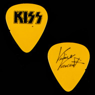 KISS Guitar Pick - Lick it Up, Yellow, Vinnie