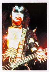 KISS Postcard - KISSology promo, Gene