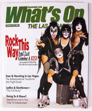 KISS Magazine - What's On in Las Vegas 2003