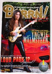 KISS Magazine - Burrn!, Japan 2013, Yngwie, KISS calendar