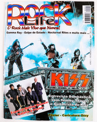 KISS Magazine - Rock Life, Brazil