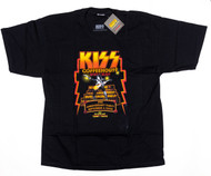 KISS T-Shirt - KISS Coffeehouse 2nd Anniversary Tommy, (size XL)