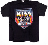 KISS T-Shirt - Alive 35 Still Rockin On Living Legends, (size XL)