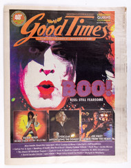 KISS Tabloid - New York Good Times 2009