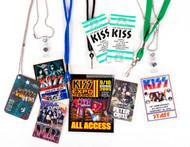 KISS Laminate Passes - Set of various KISS Expos - B