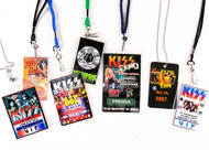 KISS Laminate Passes - Set of various KISS Expos - A