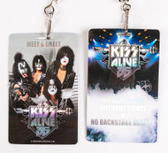 KISS Laminate - Alive 35 Meet and Greet