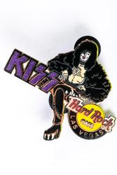 KISS Hard Rock Cafe Pin - Paul Seated Las Vegas