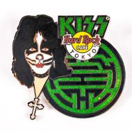 KISS Hard Rock Cafe Pin - Peter Maze Tokyo