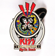KISS Coffee House Pin - Rock and Roll Over Cup