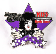 KISS Coffee House Pin - Paul Star Make a Wish