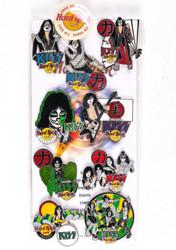 KISS Hard Rock Cafe Pins - Nagoya Complete Packaged Set