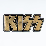 KISS Pin - Gold Logo
