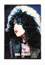 KISS Button - Paul Stanely rectangle vintage