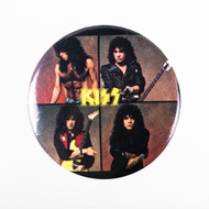 KISS Button - Crazy Nights album back cover