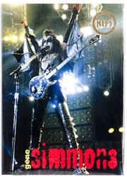 KISS Trading Cards - Cornerstone Series 1 Boxtopper, (gold)
