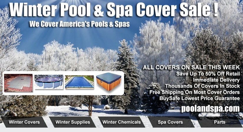 Winter Pool And Spa Cover Sale