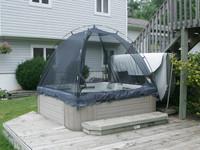Tub-A-Cabana Hot Tub Enclosure