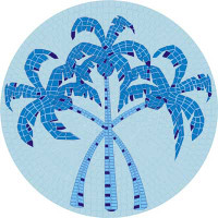 Medium Mosaic Palm tree