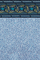 """Above Ground Pool Liner - Pacific Realm - 20 Gauge - 54"""" Depth - Uni-Bead"""