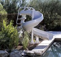 G-Force Pool Slide - For Inground Swimming Pools