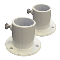 Above Ground Aluminum Deck Flanges - Set of 2 (NE1228PR)