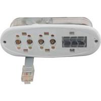 Balboa Water Group Icon Vl200 Mini Oval Digital Panel W/O Overlay - 53676