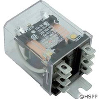 Magnecraft Dustcover Relay Dpdt 15A 24Vdc Coil -