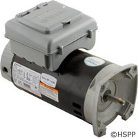 A.O. Smith Electrical Products Motor, Aos 2Green W/Timer, 2 Hp, 230V, 2-Spd, 1.30 Sf - B2984T